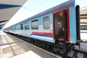 suspiciously familiarly looking train Sarajevo-Beograd