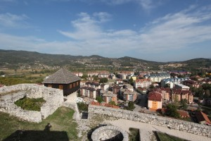 view from the Doboj fortress