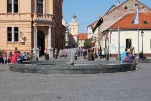 near the Tvrđa fortress in Osijek