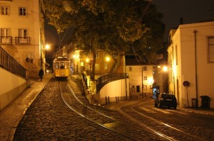 "Lisbon - the ""sneaky"" tram"