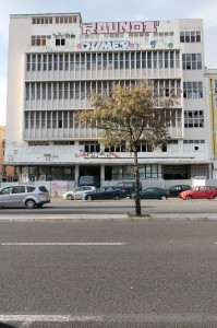 abandoned office spaces in Lisbon