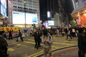 Hong Kong - pro Falun Gong campaign