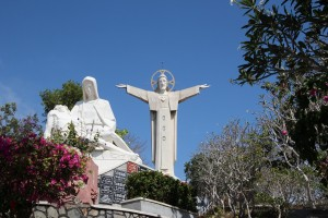 Vung Tau - statue of the Christ