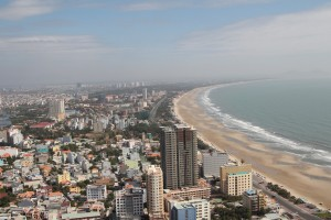 Vung Tau - view from the statue of the Christ