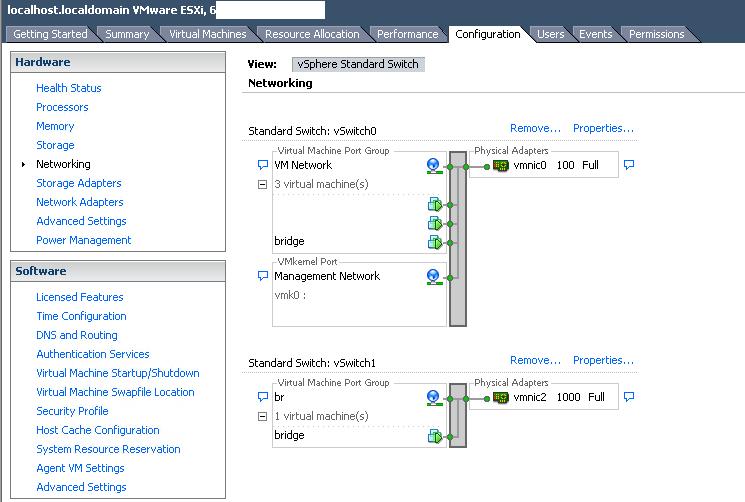 bridging two physical interfaces of esxi server –  pQd's log